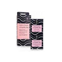 Apivita Express Beauty Μάσκα Προσώπου Για Απαλό Καθαρισμό Με Ροζ Άργιλο Για Κανονικό/Ξηρό Δέρμα 2x8ml