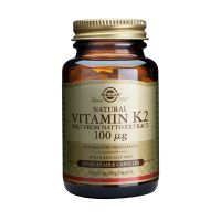 Solgar Vitamin K2 100mg 50 Κάψουλες