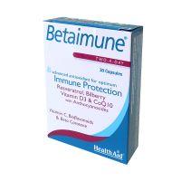 Health Aid Betaimune Για Ενίσχυση Του Ανοσοποιητικού 30 Κάψουλες