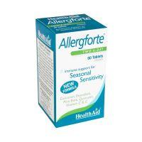 Health Aid Allergforte Συμπλήρωμα Διατροφής Για Τις Εποχιακές Αλλεργίες 60 Ταμπλέτες