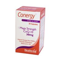 Health Aid Conergy Mega Strength CoQ-10 30mg 30 Κάψουλες