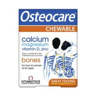 Vitabiotics Osteocare Chewable Συμπλήρωμα Διατροφής Για Δυνατά Οστά 30 Μασώμενες Ταμπλέτες