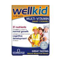 Vitabiotics Wellkid Multi-Vitamin 30 μασώμενες ταμπλέτες