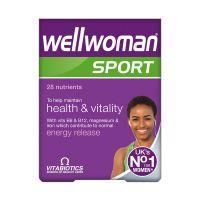 Vitabiotics Wellwoman Sport Συμπλήρωμα Διατροφής 30 Ταμπλέτες