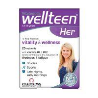 Vitabiotics Wellteen Her Πολυβιταμίνη Για Κορίτσια 13-19 Ετών 30 Ταμπλέτες