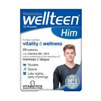 Vitabiotics Wellteen Him Πολυβιταμίνη Για Αγόρια 13-19 Ετών 30 Ταμπλέτες
