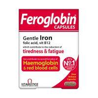 Vitabiotics Feroglobin B12 Βραδείας Αποδέσμευσης 30 Κάψουλες