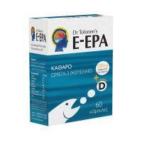 Protexin Dr. Tolonen's E-EPA Καθαρό Ωμέγα-3 Ιχθυέλαιο 500mg 60 Κάψουλες