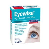 Lamberts Eyewise High Strength Lutein 20mg Συμπλήρωμα Διατροφής 60 Ταμπλέτες