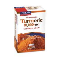 Lamberts Turmeric 10.000mg Συμπλήρωμα Διατροφής 60 Ταμπλέτες