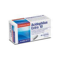 Lamberts Acidiphilus Extra 10 Συμπλήρωμα Διατροφής 60 Κάψουλες