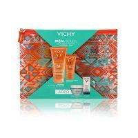Vichy Set Με Ideal Soleil Aντηλιακό Γαλάκτωμα-Τζελ Σώματος Για Στεγνό ή Βρεγμένο Δέρμα Spf50 200ml & Ideal Soleil Αντηλιακή Κρέμα Προσώπου Για Ματ Αποτέλεσμα  Για Μικτό/Λιπαρό Δέρμα Spf50 50ml & Δώρο Vichy Μάσκα Ενυδάτωσης 15ml & Vichy Mineral 89 5ml