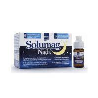Solumag Night Συμπλήρωμα Διατροφής Για Τη Μείωση Χρόνου Έλευσης Ύπνου 15 Φιαλίδια