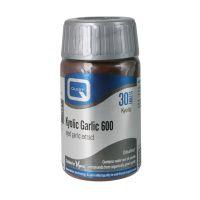 Quest Kyolic Garlic 600 Συμπλήρωμα Διατροφής Για Το Ανοσοποιητικό & Καρδιαγγειακό 30 Ταμπλέτες
