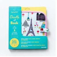 Jaq Jaq Bird Doodle It Book Βιβλίο Ζωγραφικής Με Κιμωλίες Paris