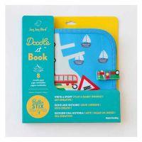 Jaq Jaq Bird Doodle It Book Βιβλίο Ζωγραφικής Με Κιμωλίες Trains