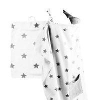 Minene Κάλυμμα/Ποδιά Θηλασμού Black & White Stars