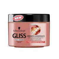 Gliss Strength & Resistance Μάσκα Εντατικής Ενδυνάμωσης Για Αδύναμα & Ταλαιπωρημένα Μαλλιά 200ml