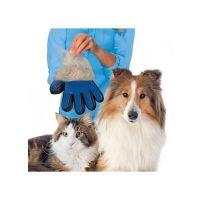 Pet Πλαστικό Γάντι Απομάκρυνσης Περιττού Τριχώματος Για Γάτες & Σκύλους Μπλε, Δεξί, 23*16.8cm 1τμχ