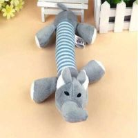 Pet Υφασμάτινο Μασητικό Σκύλου Με Ήχο Ελεφαντάκι 25cm