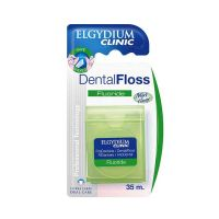 Elgydium Clinic Fluoride Οδοντικό Νήμα Με Φθόριο & Γεύση Μέντα 35m