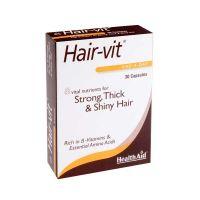 Health Aid Hair-vit 30 Δύναμη, Όγκος & Λάμψη Στα Μαλλιά 30 Κάψουλες
