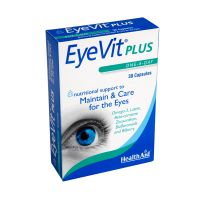 Health Aid EyeVit Plus Για Τη Φροντίδα Των Ματιών 30 Κάψουλες