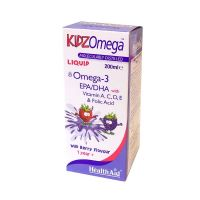 Health Aid KidzOmega Ω3 Λιπαρά Οξέα Με Γεύση Βατόμουρο 200ml