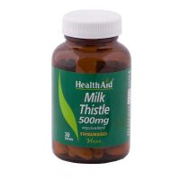 Health Aid Milk Thistle 500mg Για Την Υγεία Του Συκωτιού Vegan 30 Ταμπλέτες