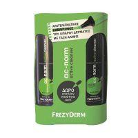 Frezyderm Ac-Norm Active Cleancer Set Με Απαλό Υγρό Καθαρισμού Προσώπου Για Λιπαρό Δέρμα Με Τάση Ακμής 200ml + Δώρο 80ml