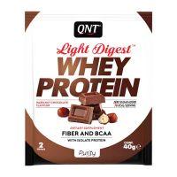 QNT Light Digest Whey Protein Η Νέα Γενιά Πρωτεΐνης Με Γεύση Hazelnut Chocolate 40g