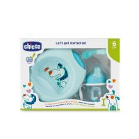 4707a3133ca Chicco Let's Get Started Set Φαγητού 3τμχ 6m+