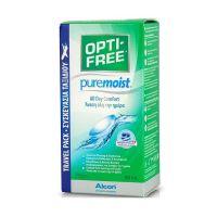 Opti-Free Puremoist Διάλυμα Απολύμανσης Πολλαπλών Χρήσεων Για Φακούς Επαφής Travel Pack 90ml