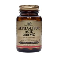 Solgar Alpha-Lipoic Acid 200mg Αντιοξειδωτικά 50 Veg. Caps
