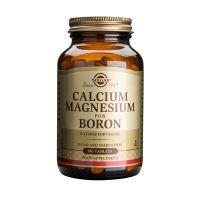 Solgar Calcium Magnesium Plus Boron Μέταλλα-Ιχνοστοιχεία 100 Tabs