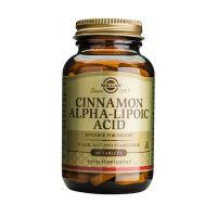 Solgar Cinnamon Alpha-Lipoic Acid 60 Tabs
