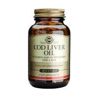 Solgar Cod Liver Oil One A Day Βιταμίνες 100 Softgels