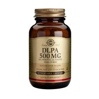 Solgar DLPA 500mg Free Form Αμινοξέα 50 Veg. Caps