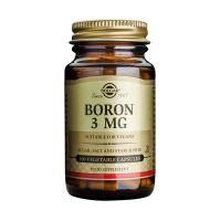 Solgar Boron 3mg Μέταλλα-Ιχνοστοιχεία 100 Veg. Caps