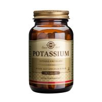 Solgar Potassium Μέταλλα-Ιχνοστοιχεία 100 Tabs