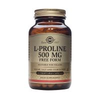 Solgar L-Proline 500mg Free Form Αμινοξέα 100 Veg. Caps