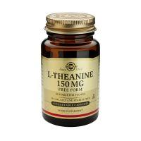 Solgar L-Theanine 150mg Free Form Αμινοξέα 30 Veg. Caps