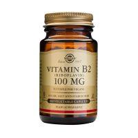 Solgar Vitamin B2 (Riboflavin) 100mg Βιταμίνες 100 Veg. Caps