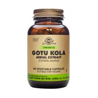 Solgar Gotu Kola Aerial Extract (Centella asiatica) Ενισχυμένα Φυτικά Εκχυλίσματα 100 Veg. Caps