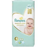 Pampers Premium Care Πάνες Νο4 8-14kg 52τμχ