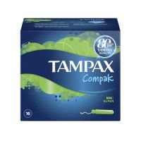 Tampax Compak Super Ταμπόν 16τμχ