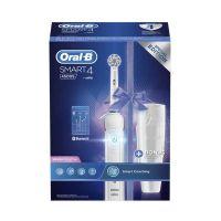 Oral-B Genius Smart 4500 Ηλεκτρική Οδοντόβουρτσα & Δώρο Θήκη Ταξιδίου