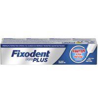 Fixodent Pro Plus Ασπίδα Προστασίας Στερεωτική Κρέμα Για Τεχνητές Οδοντοστοιχίες 40g
