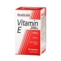 Health Aid Vitamin E 200IU 134mg Αντιοξειδωτική Δράση 60 Κάψουλες