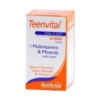Health Aid Teenvital Πολυβιταμίνες & Μέταλλα Για Έφηβους 30 Ταμπλέτες
